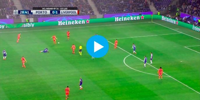 (Video) Salah scores 'Seal Goal' v Porto – Outrageous Composure