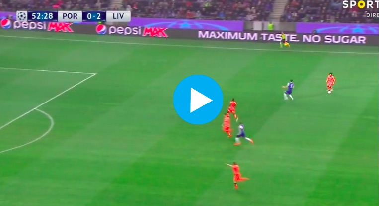 (Video) Mane scores breathtaking counter-attack goal as LFC run riot