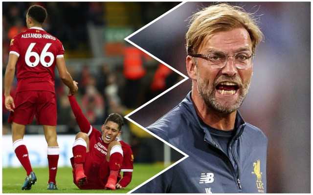 Klopp discusses Roberto Firmino's poor form