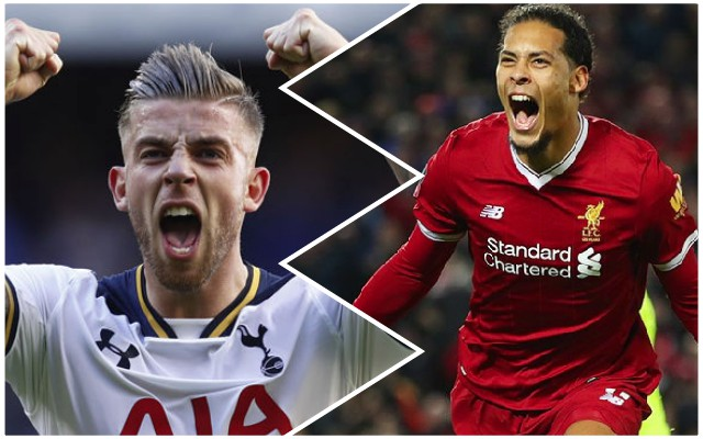 Journo provides LFC positive Alderweireld boost