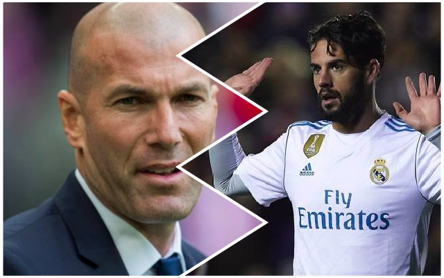 Zidane talks Isco future after Liverpool rumours emerge