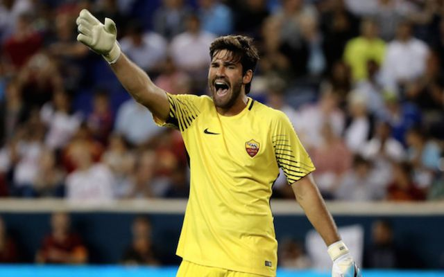 Journalist rules out Alisson 'alternatives' for Liverpool