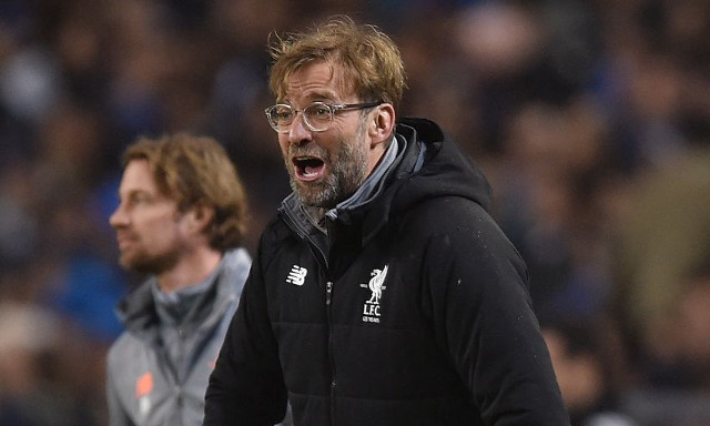 Photo of Jurgen Klopp and Liverpool target published on social media