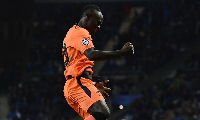 (Video) Watch Sadio Mane react to hat-trick alongside Jamie Carragher