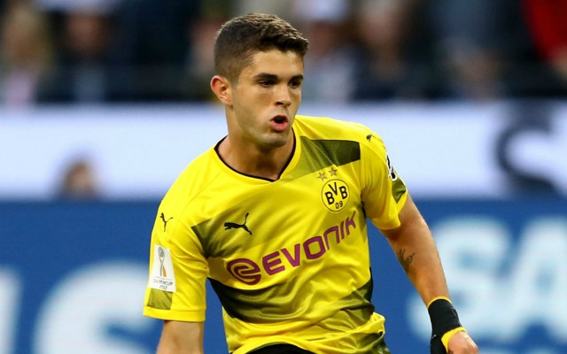 Borussia Dortmund drop Christian Pulisic clue with transfer enquiry