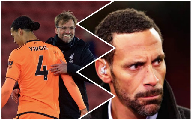Rio Ferdinand completely nails it on Virgil van Dijk…