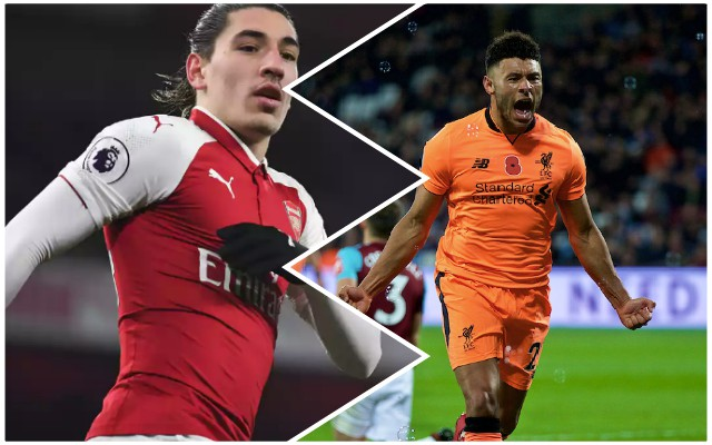 Oxlade-Chamberlain has convinced Bellerin to leave Arsenal this summer