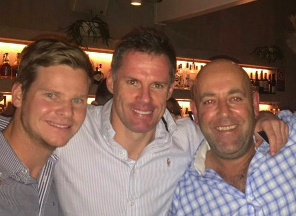 Carra is back with hilarious Twitter joke on Aussie cricket team
