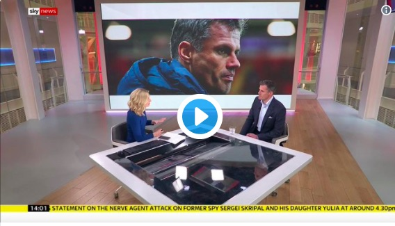 Watch tearful Carra give Sky News interview: 'I don't know what I'd do if that was my little girl'
