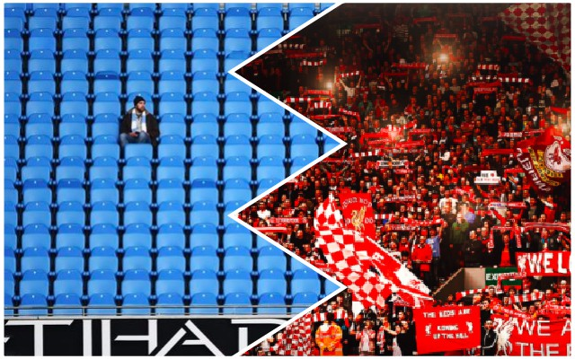 Embarrassing: City can't sell out 'Emptihad' for Liverpool QF