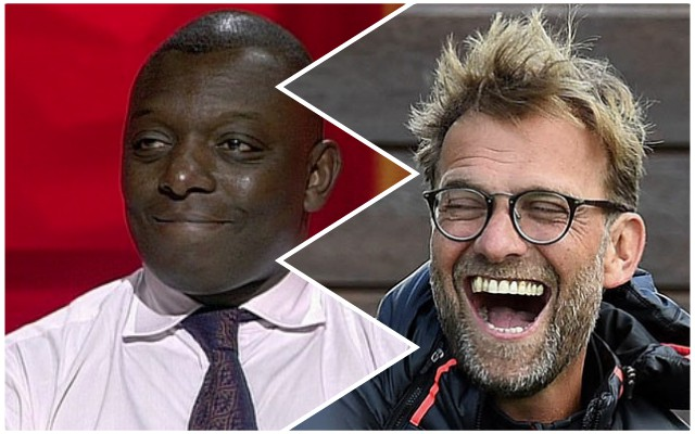 'Give him an Oscar' 'Best I've seen in years' Garth Crooks has gone to town with praise of LFC CB duo