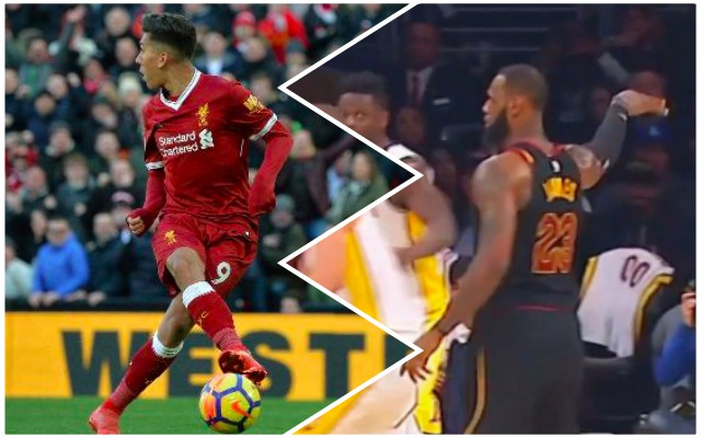 Everyone is comparing this LeBron James moment to Firmino