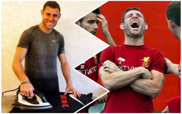 Amazing James Milner/Paul Scholes stat goes viral – and LFC fans love it