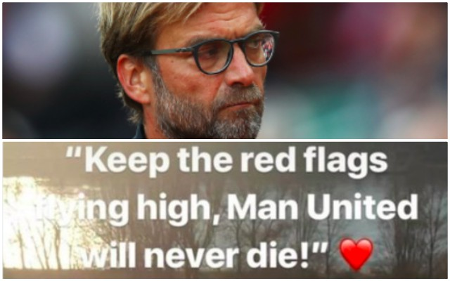 LFC player posts love for Man United on Instagram; then has U23 nightmare