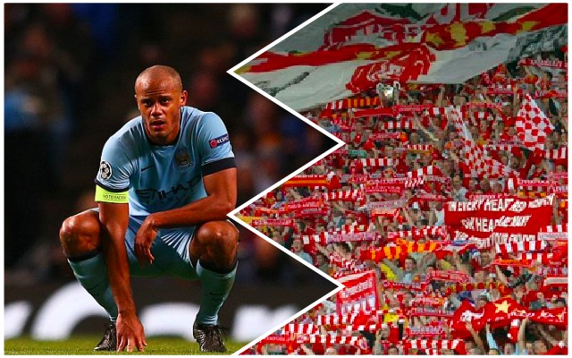 Kompany stokes fire ahead of Anfield tie by claiming City aren't worried by atmosphere