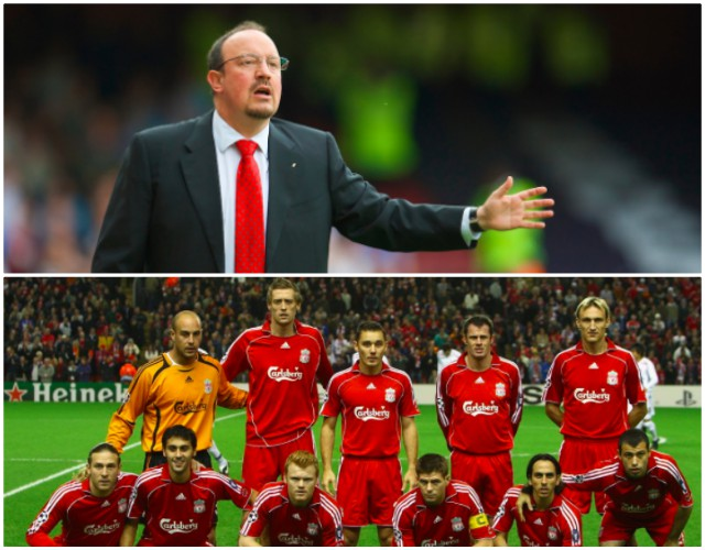 Benitez makes LFC fans smile with reminiscent Anfield comments