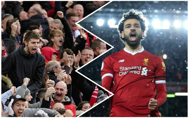There's an insane 'Mo Salah at Anfield' stat doing the rounds…