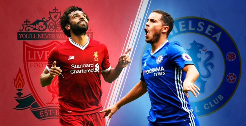 Hazard admits Mo Salah is better and that he 'tries to reach that level'