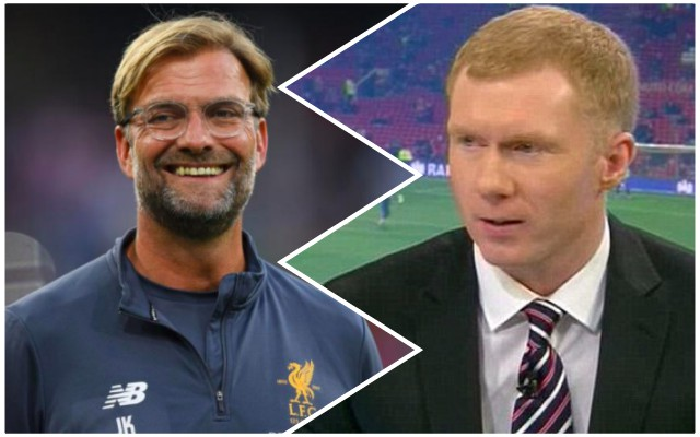 Wow: Scholes tells MUTV Liverpool are better equipped than United