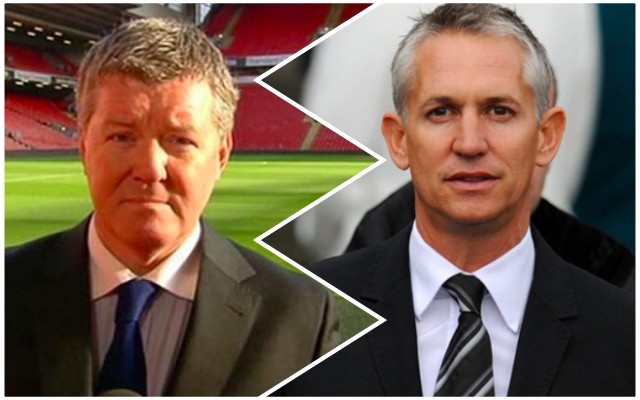 Lineker & Shreeves fought about Carra on Twitter last night