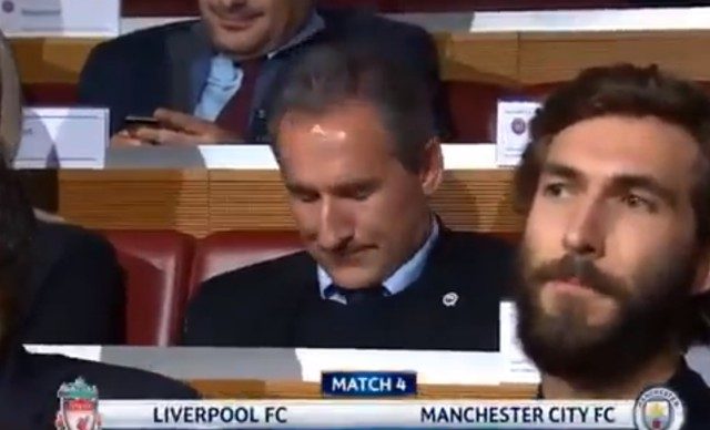 Video: Man City chief's reaction to drawing Liverpool in the Champions League is a must-watch