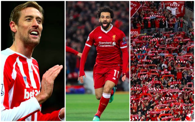 Peter Crouch sent out a brilliant Liverpool tweet during City clash