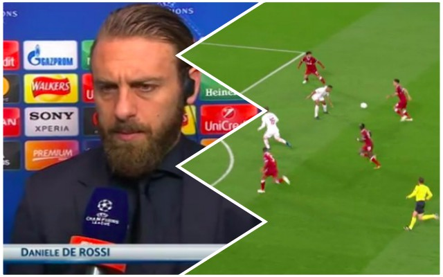 De Rossi: The simple reason we couldn't deal with LFC attack