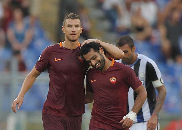 Dzeko reveals texts to Salah before Liverpool clash