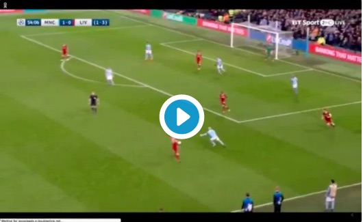 Video surfaces of Firmino's unbelievable defensive work-rate v City