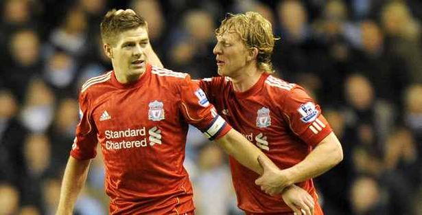 Dirk Kuyt set to follow in Steven Gerrard's footsteps