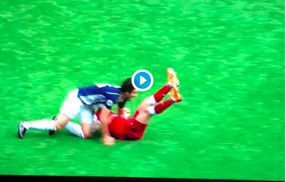 LFC fans furious at ref as Ings is punched by WBA defender