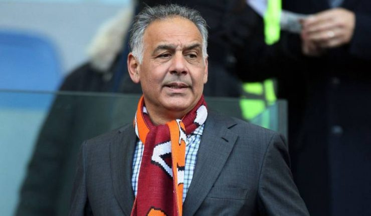 Roma president plays mind-games by leaking transfer info before game