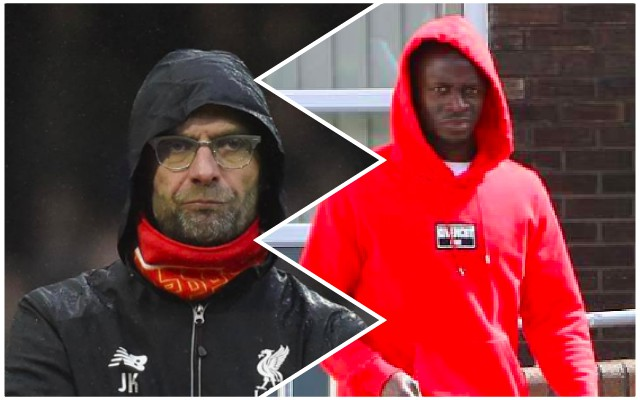 (Images) Sadio Mane seen entering hospital limping