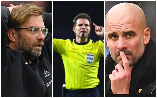 The referee for Liverpool v City has some eye-opening stats…