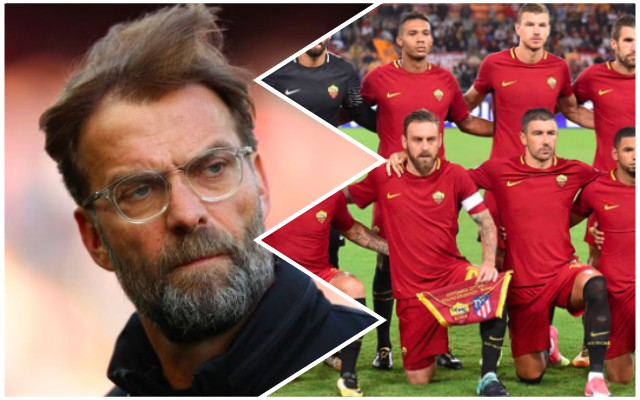 Roma hit with double injury blow before Liverpool tie