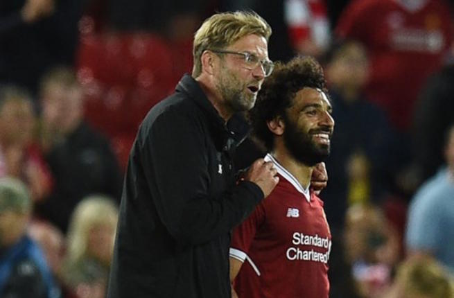 Klopp picks odd moment that sparked Salah's crazy form