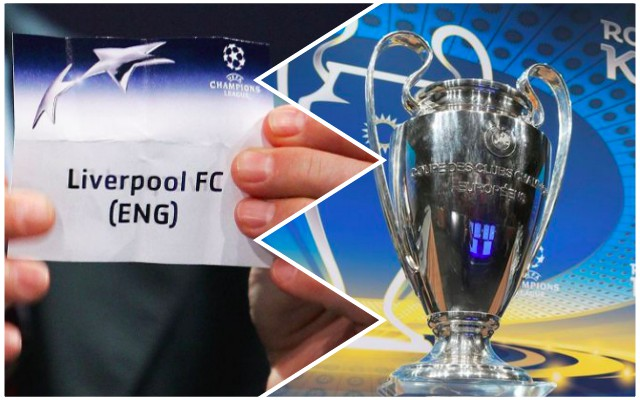Weird omen emerges ahead of Liverpool's Champions League Draw…
