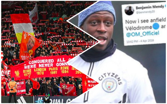 Ridiculous Mendy tweet about Anfield atmosphere ridiculed