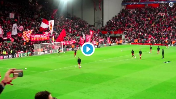 Incredible Fan Footage shows Mo Salah practising exact finish he used to destroy AS Roma