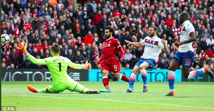 Nobody can believe what Salah did early on v Stoke…