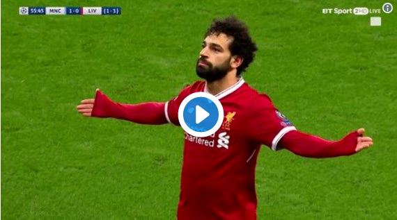 (Video) Firmino's hilarious, confused reaction to Salah's 'celebration'