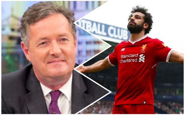 Piers Morgan sends out controversial Mo Salah tweet that winds up United fans…