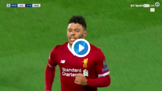 (Video) Watch All Liverpool's 1st Half Goals V City Now – As Reds Run Riot At Anfield