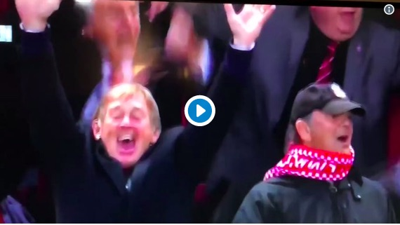 (Video) Gerard Houllier does hilarious 'Marko Grujic' face after Salah goal