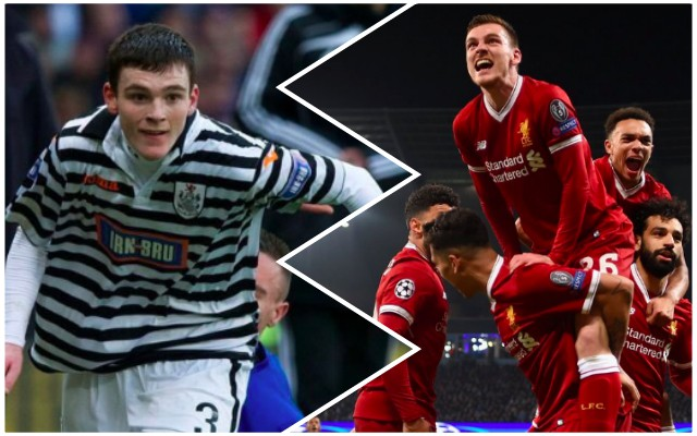 LFC fans love what Robertson tweeted in 2012, Six Years before CL Final Qualification