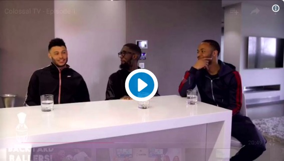 (Video) Watch Ox winding up Sterling, who's got no comeback whatsoever…