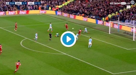 (VIDEO) Mo Salah scores superb chip for LFC v City and deadpans the celebration