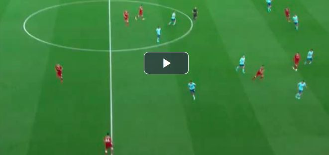 (Video) Salah scores ridiculous 40th goal of season; produces ice-cool celebration