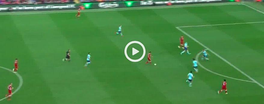 (Video) Firmino scores 25th of the season… treats Reds to trademark celebration