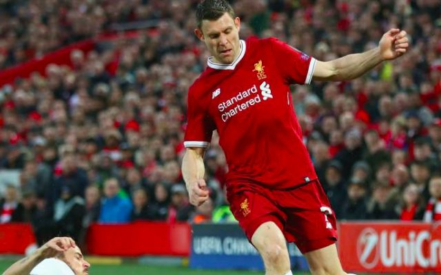 'He could play for England' – Milner praised for stunning Liverpool form